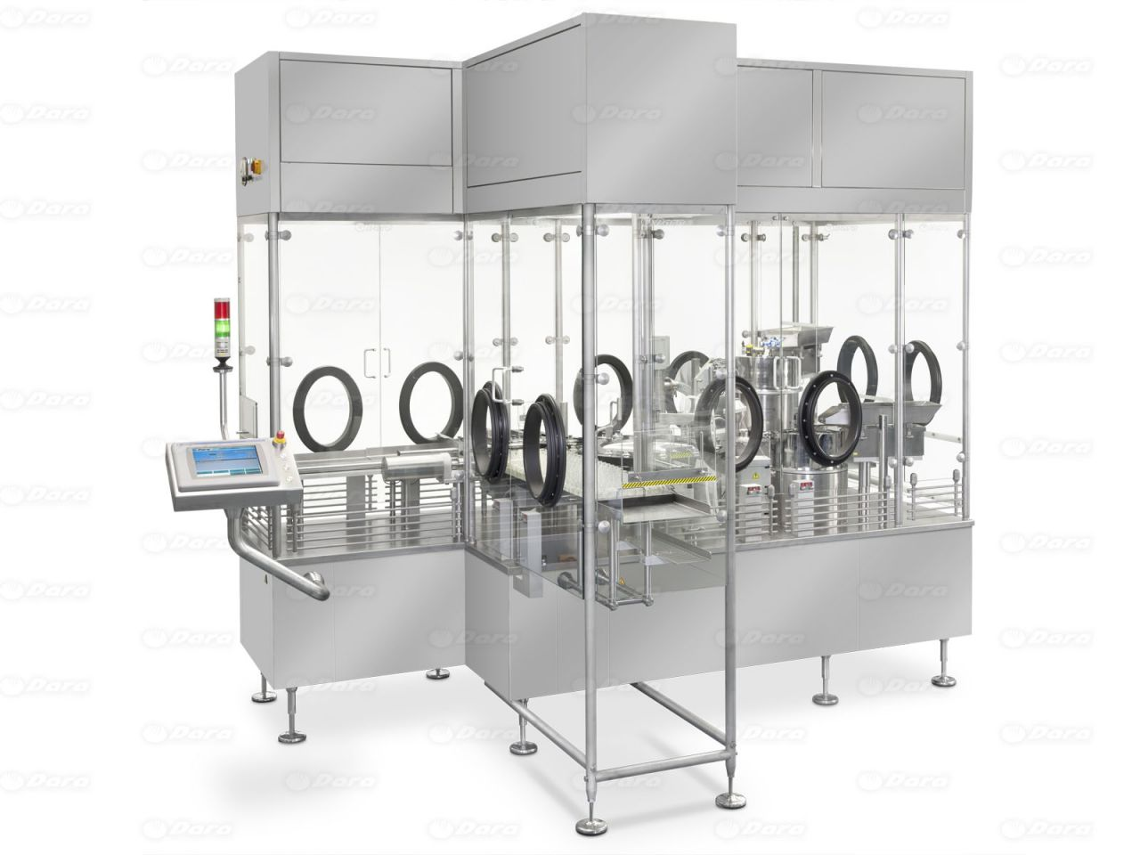 Dara Aseptic Filling And Closing Barrier System Machine